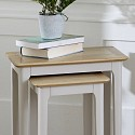 Grey Nest of 2 Tables - Devon Range