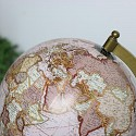 Pink Wooden World Globe