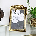 Gold Leopard Photo Frame