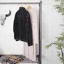 Metal Industrial Clothing Rail