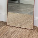 Tall Copper Wall / Floor / Leaner Mirror 47cm x 142cm