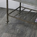 Industrial Grey Metal Trolley