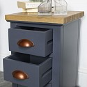 Grey Bedside Table - Grayson Range