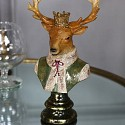 Regal Stag Head Bust