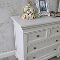 Two Over Two Chest of Drawers - Daventry Taupe-Grey Range