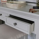 Daventry Range - Grey Dressing Table, Stool and Mirror
