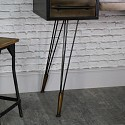 Large Retro Industrial Desk/Dressing Table
