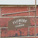 Large Rustic Crate Flower Garden Planter