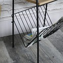 Vintage Retro Magazine Rack Table