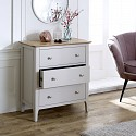 Grey Bedroom Furniture, Double Wardrobe, Chest of Drawers & Pair of Bedside Tables - Devon Range