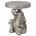 Silver Elephant Side Table
