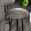 Round Silver Side/Occasional Table