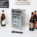 Industrial Wall Mounted Bottle Top Collector