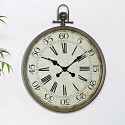 Large Pocket Watch Style Wall Clock