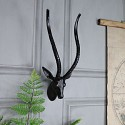 Small Wall Mounted Metal Antelope Head