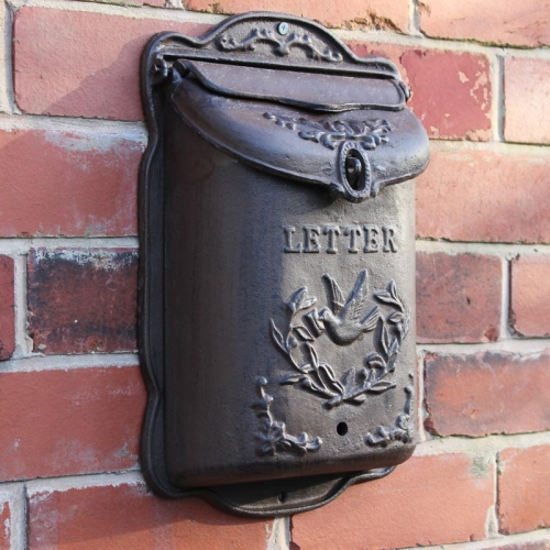 Cast Iron Wall Mounted Mail Box Windsor Browne