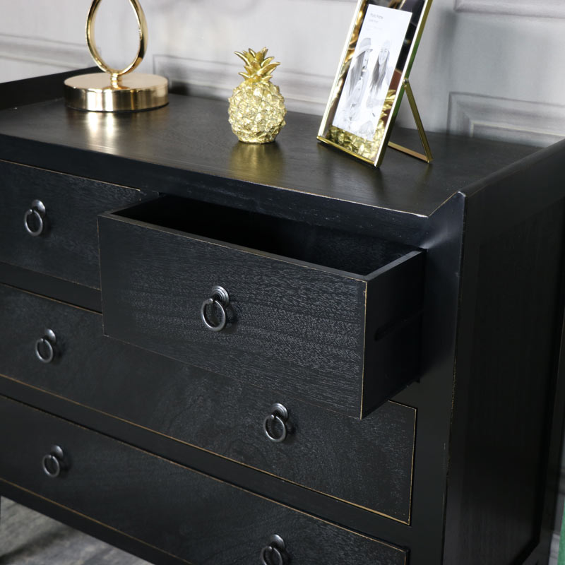 Black Chest Of Drawers Mika Range Windsor Browne