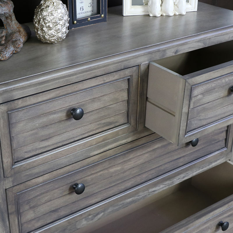Hornsea Range Wooden Chest Of Drawers Windsor Browne