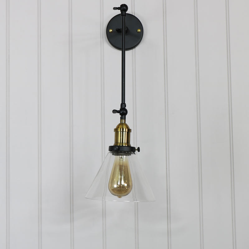 Industrial Style Adjustable Wall Light Industrial Style Adjustable Wall  Light ...