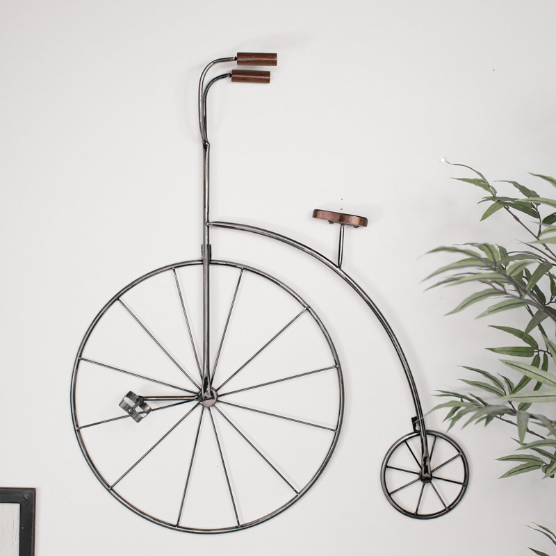 Penny Farthing Bicycle Wall Art