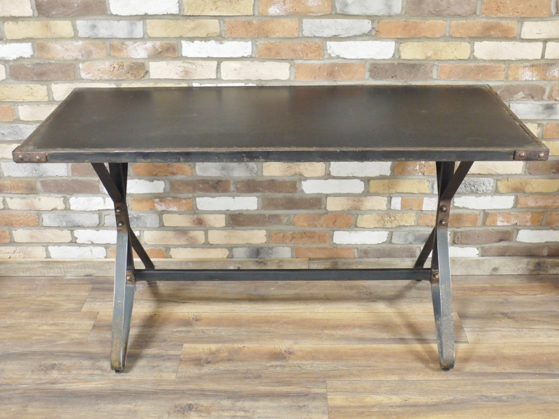 Large Industrial Rustic Style Dining Table