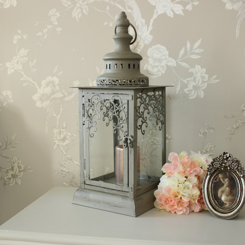 Grey French Lantern