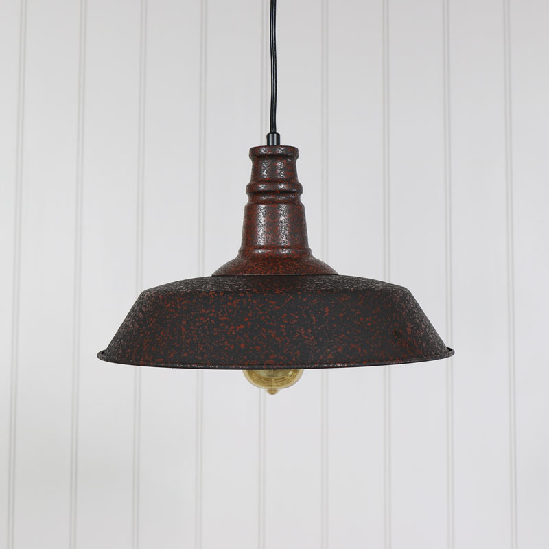 Rustic Industrial Style Ceiling Light
