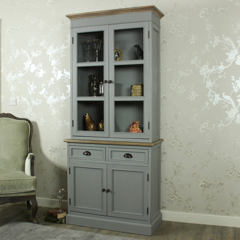 Admiral Range - Tall Glazed Display Cabinet Dresser