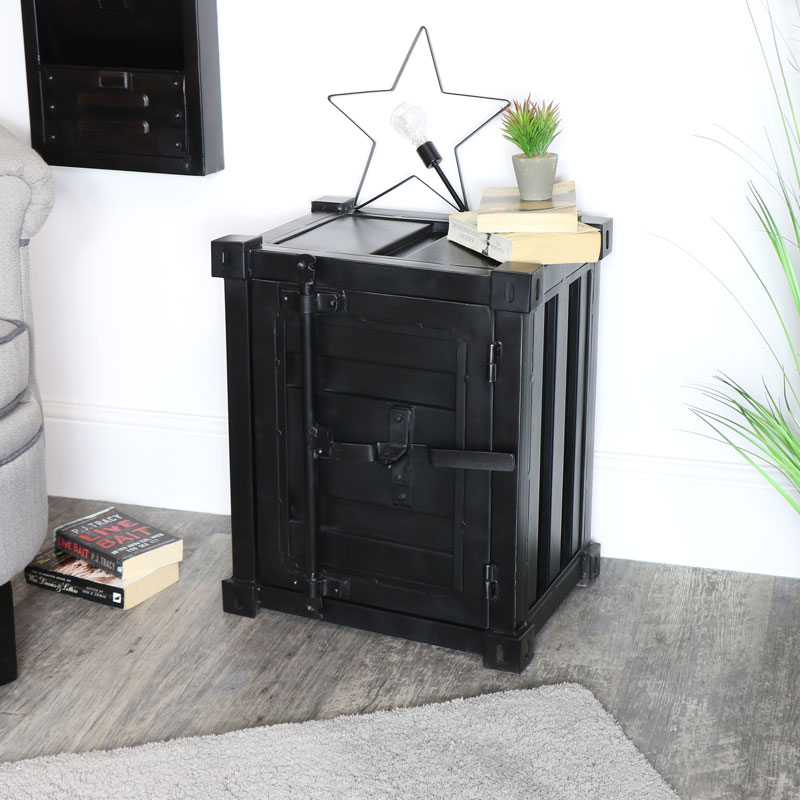 Industrial Bedside Table