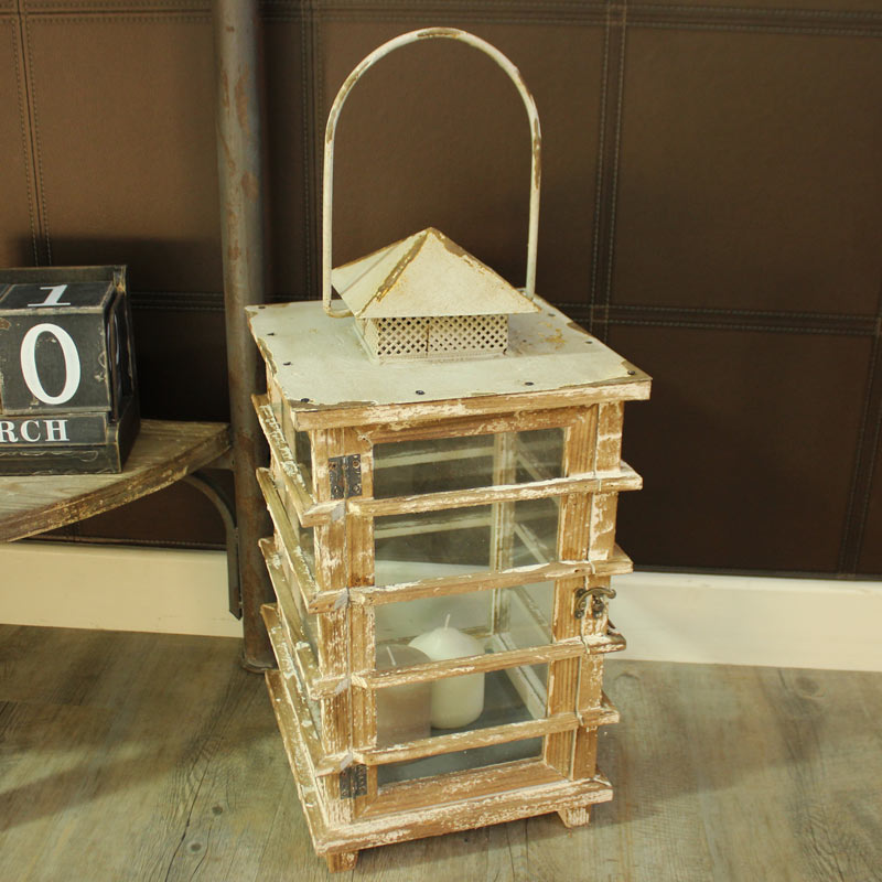 Rustic Vintage Style Candle Lantern
