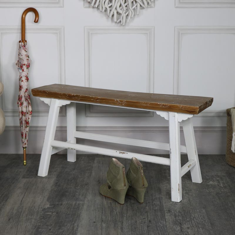 Stupendous Wide Vintage Wooden Milking Stool Bench Pabps2019 Chair Design Images Pabps2019Com