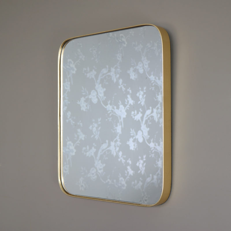 Gold Framed Vintage Wall Mounted Mirror