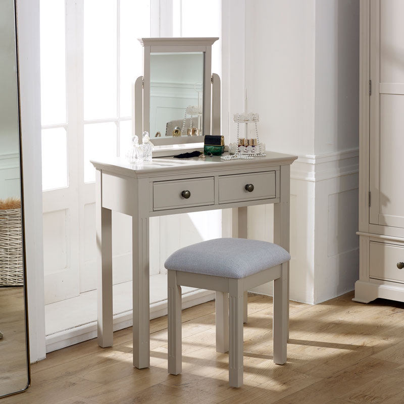 Davenport Taupe-Grey Dressing Table Set - Davenport Taupe-Grey Range