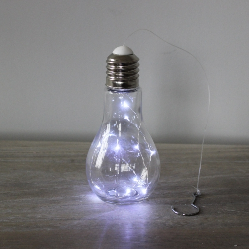 Hanging LED Glass Bulb Light