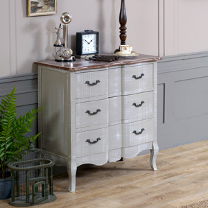 French Grey Range - Chest of Drawers