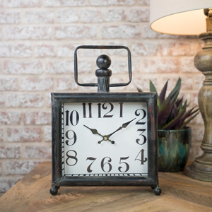 Vintage Distressed Mantle Clock