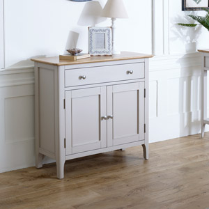 Grey Sideboard Storage Cupboard - Devon Range
