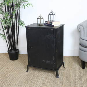 Industrial Metal Bedside Unit
