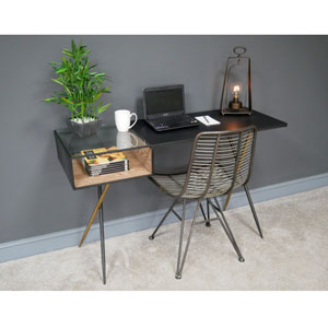 Industrial Metal Office Desk