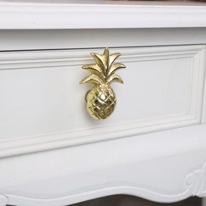 Gold Pineapple Drawer Knob