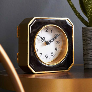 Vintage Gold Mantel Clock