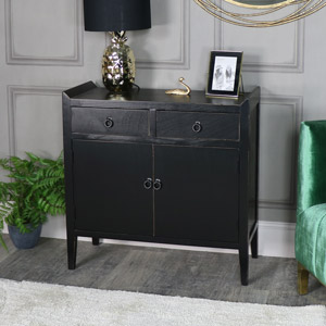 Black Cupboard Unit - Mika Range