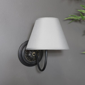 Black & Grey Wall Light