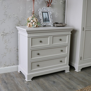 Two Over Two Chest of Drawers - Daventry Grey Range