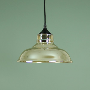 Smoked Glass Ceiling Pendant Light