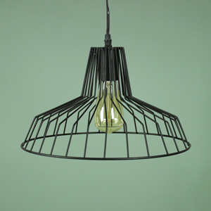 Black Wire Ceiling Pendant