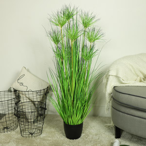 Tall Potted Artificial Water Bamboo Plant