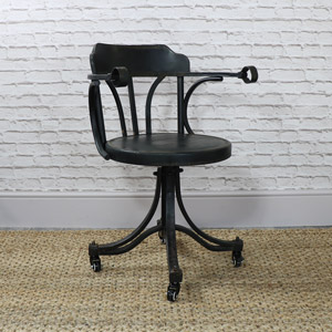 Industrial Style Swivel Desk/Office Chair