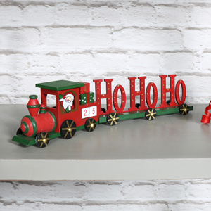 Advent Calendar Christmas Train