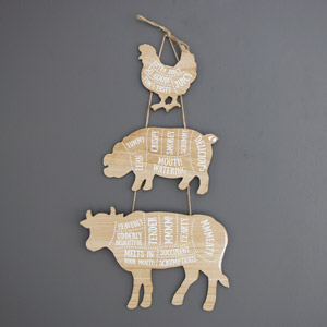 Tasty Treats Rustic Wall Hanging Plaque